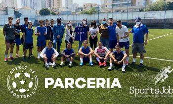 Parceria Spirit of Football e Sportsjob – Impactar jovens para o mercado de trabalho